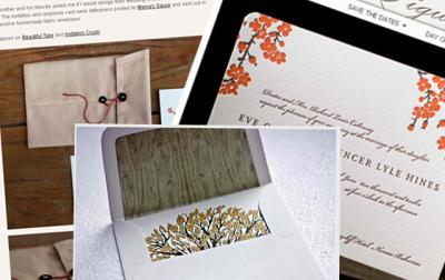 5 Of The Most Beautiful Letterpress Wedding Invitations