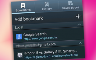 how-to: add and view bookmarks on samsung galaxy