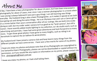 writing an about me page the best way