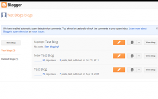 creating a blog with blogspot