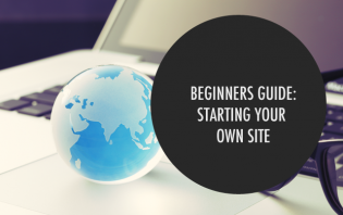 how to start own website