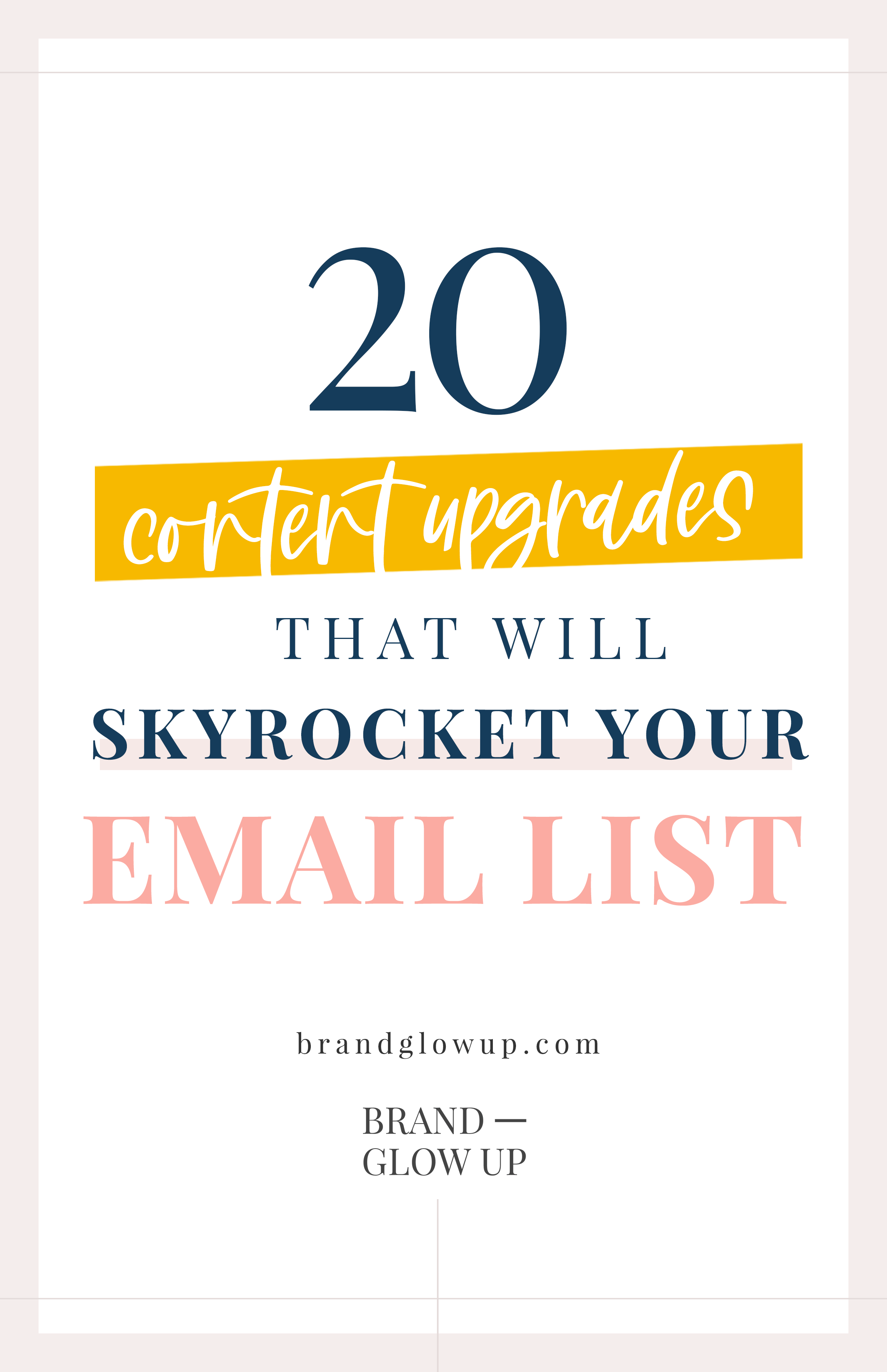 Content Upgrades To Grow Email List