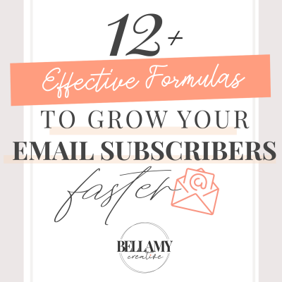 12 Effective Formulas To Grow Your Email Subscribers Faster