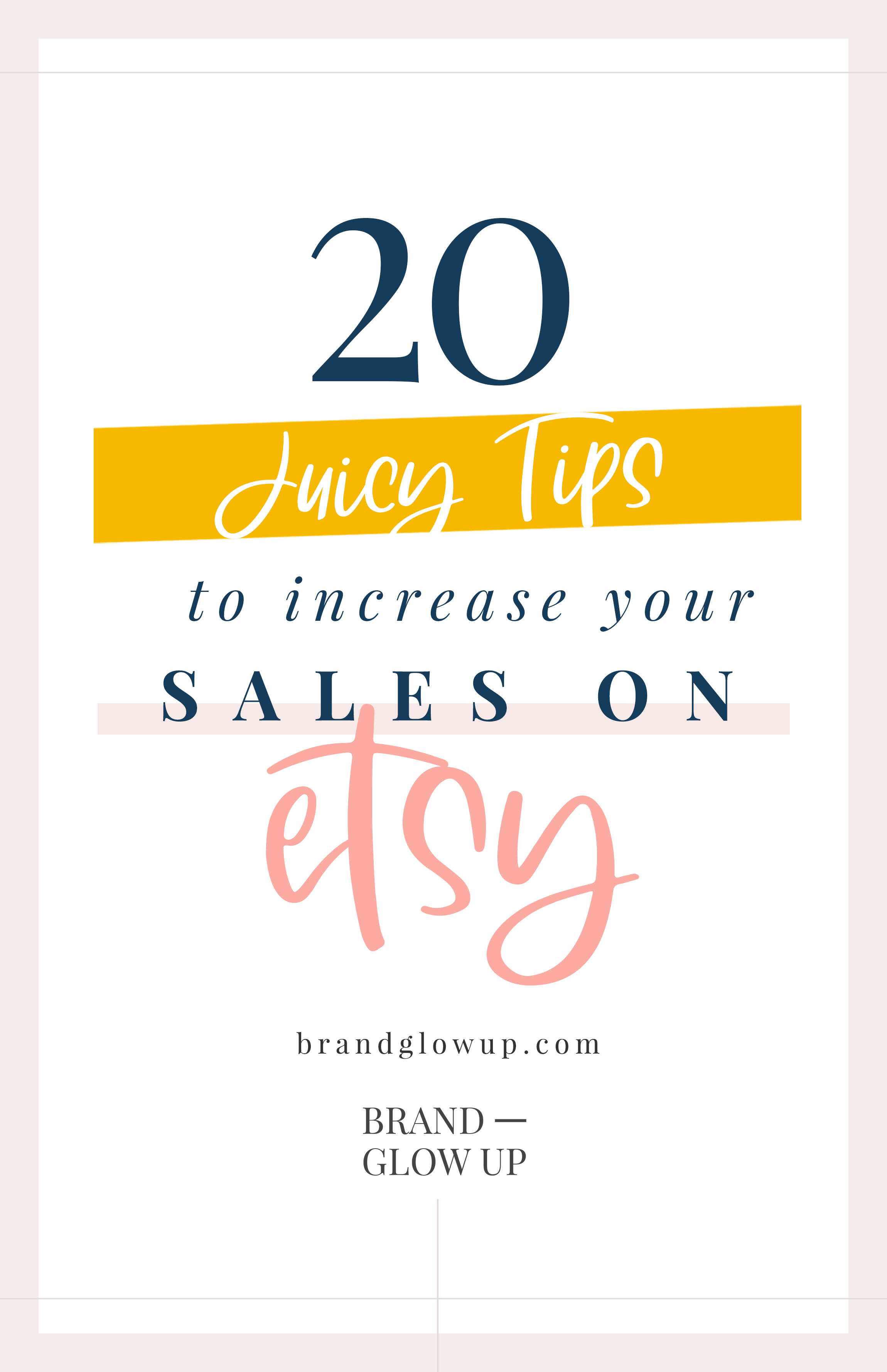 Increase Sales on Etsy