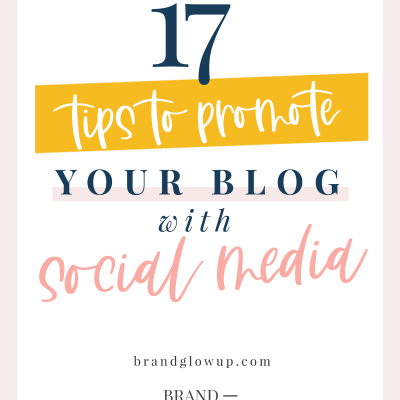 17 Tips To Promote Your Blog With Social Media
