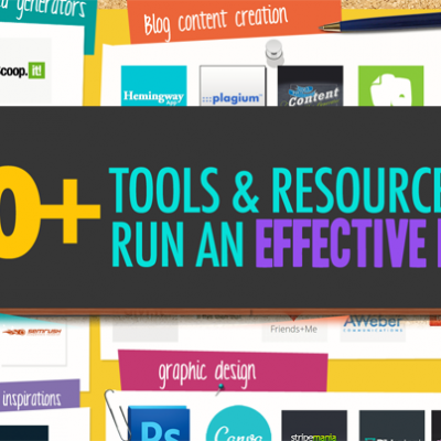50+ Awesome Tools I Use To Run A Kick-Ass Blog