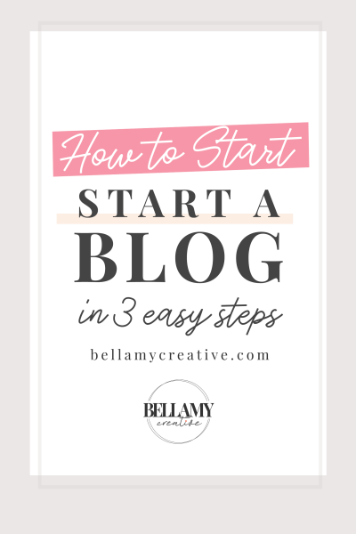 How To Start a Blog With WordPress & BlueHost