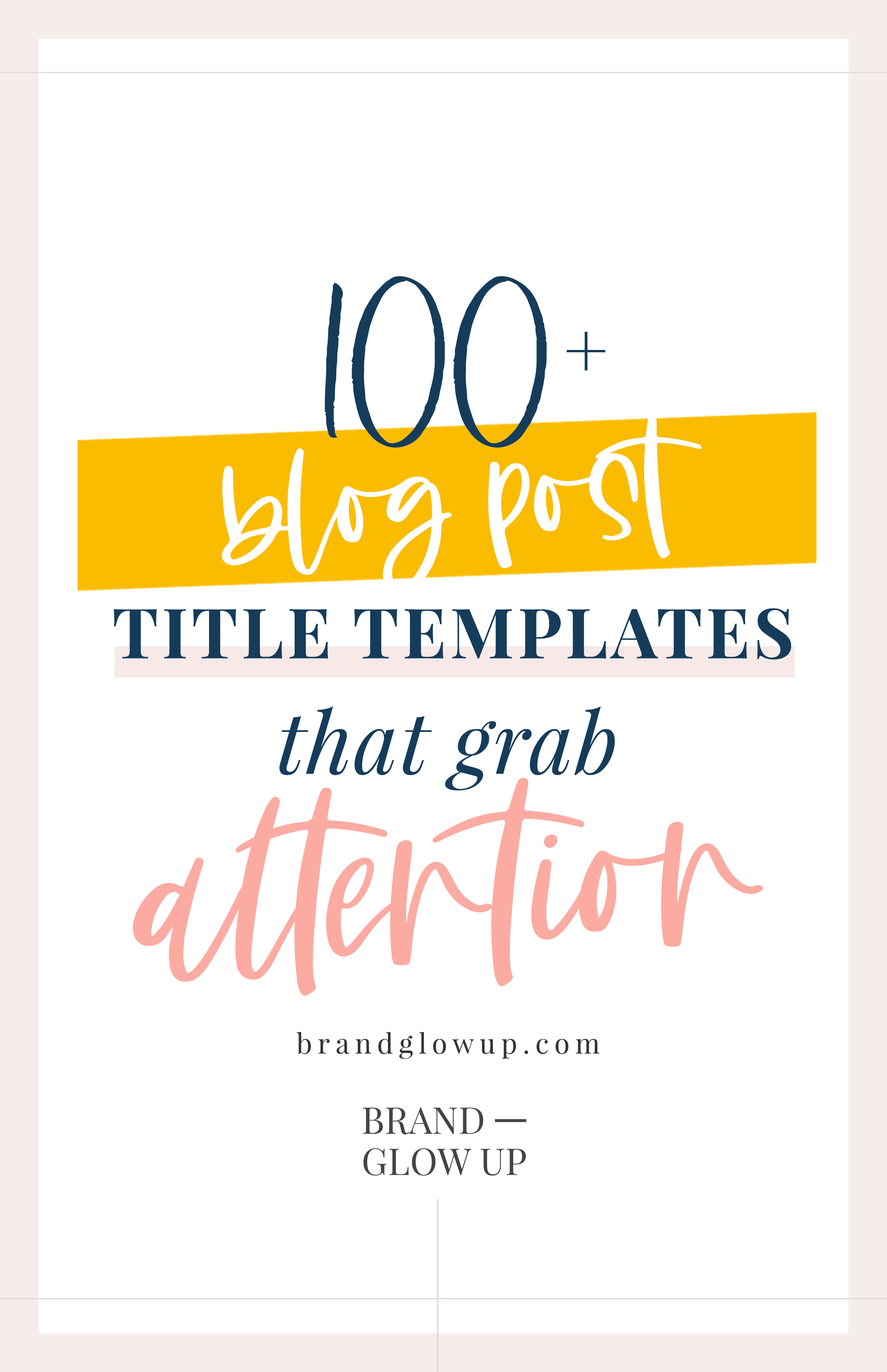 Blog Post Headline Title Templates