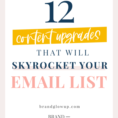 20 Content Upgrades That Will Skyrocket Your Email List