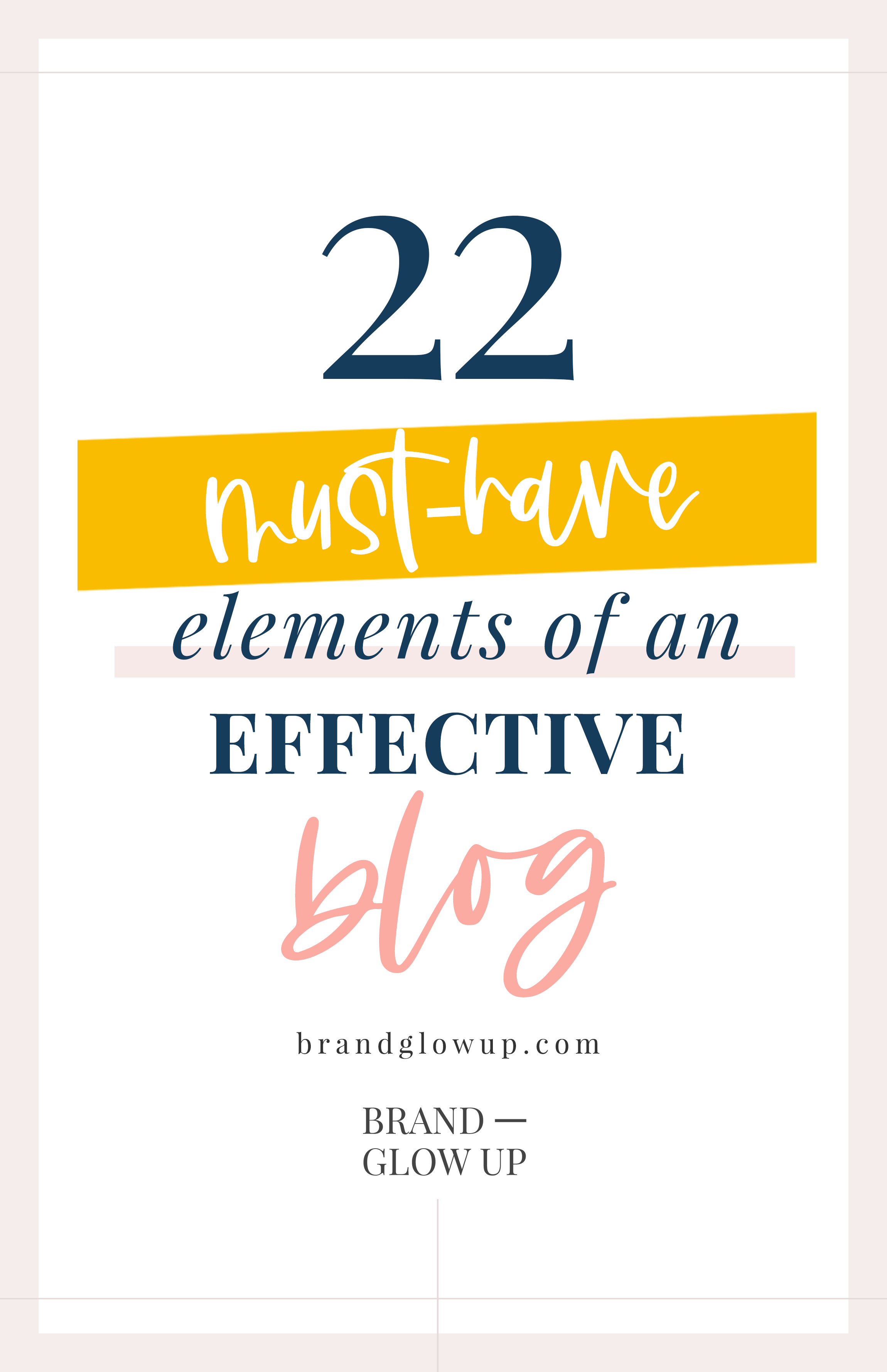 Must Haves for an Effective Blog