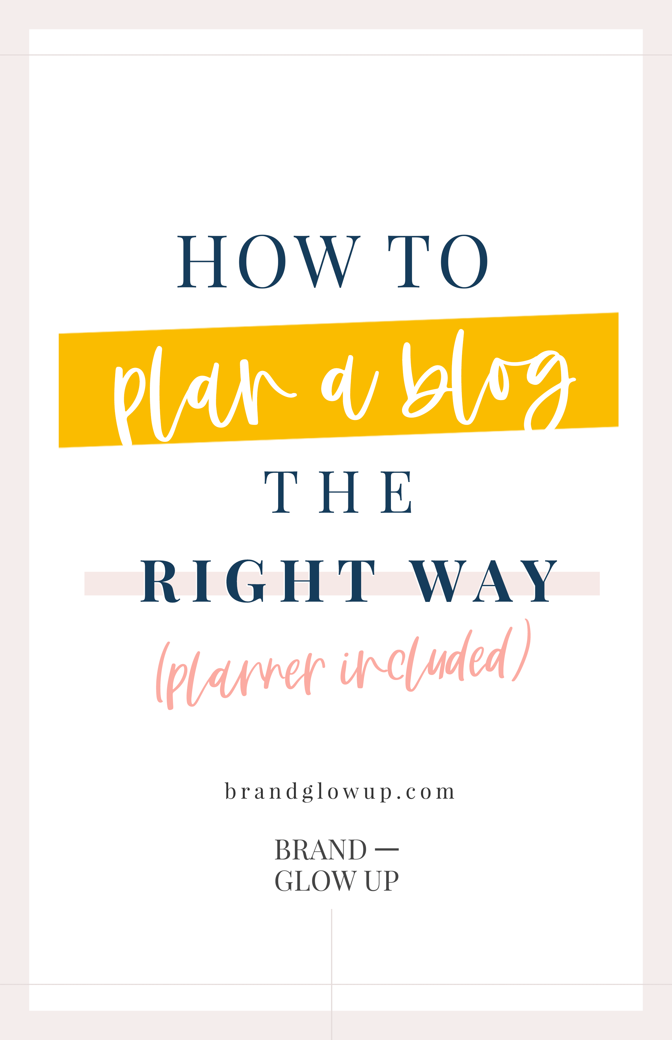 How to Plan a Blog
