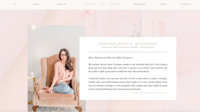 Patricia Mari Creative Branding