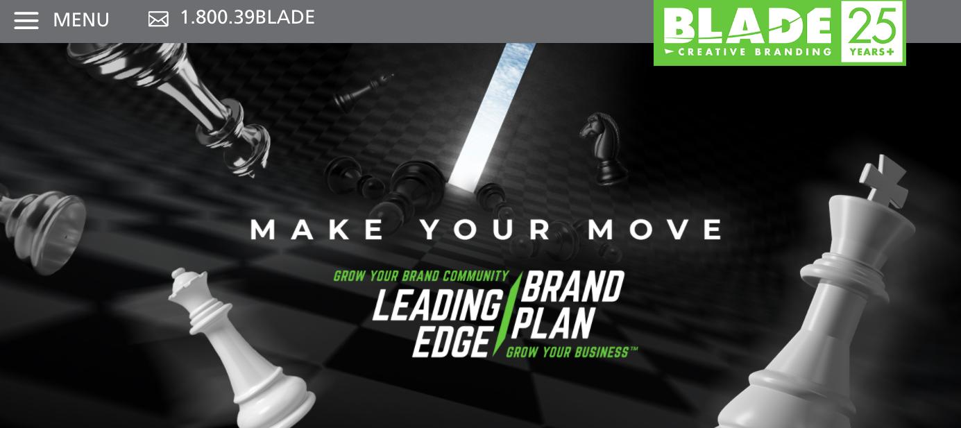 Blade Creative Branding Website