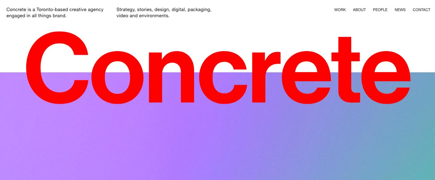 Concrete Website