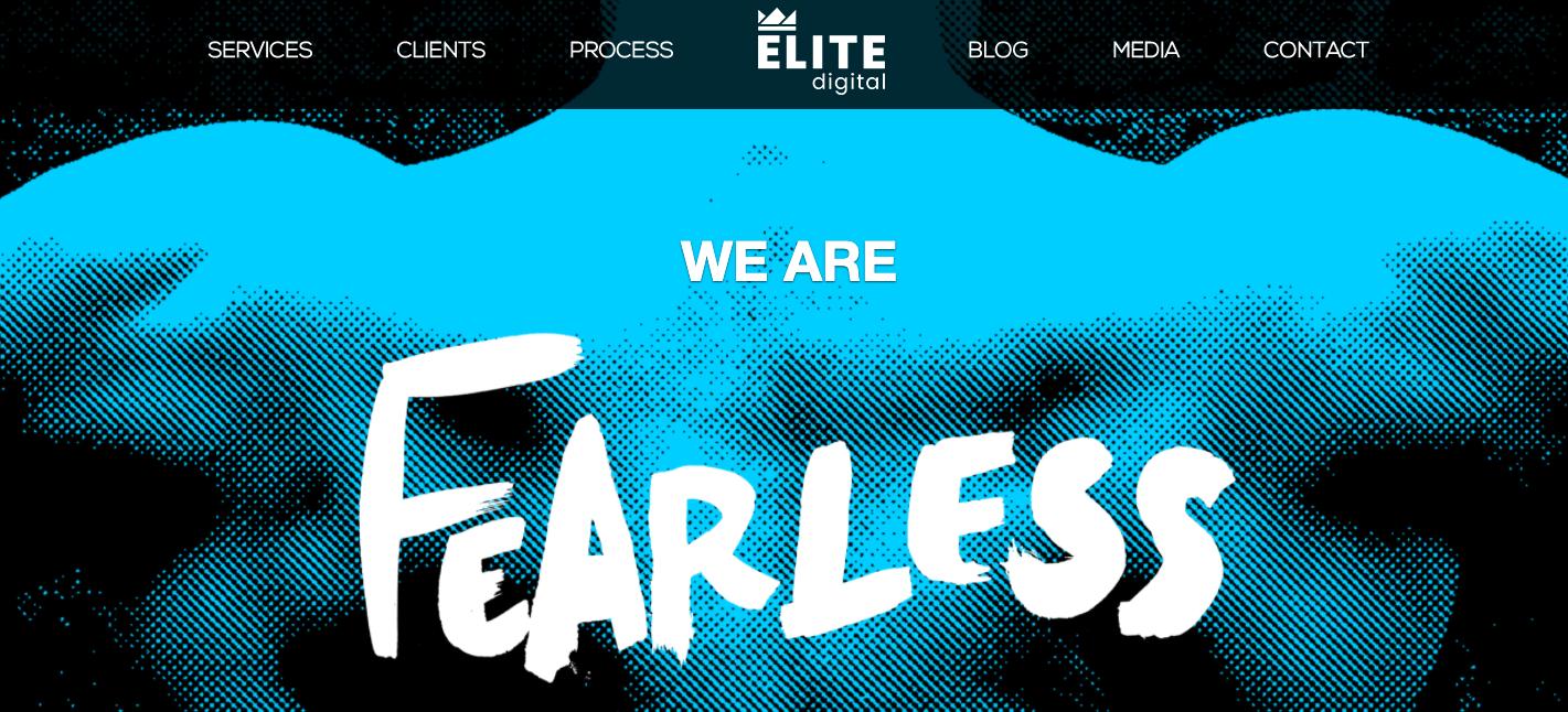 Elite Digital Website