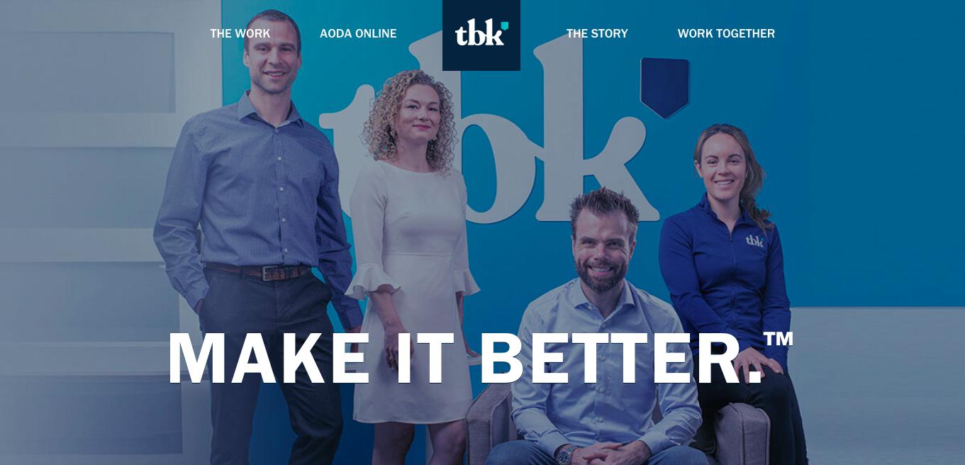 TBK Creative Luxury Web