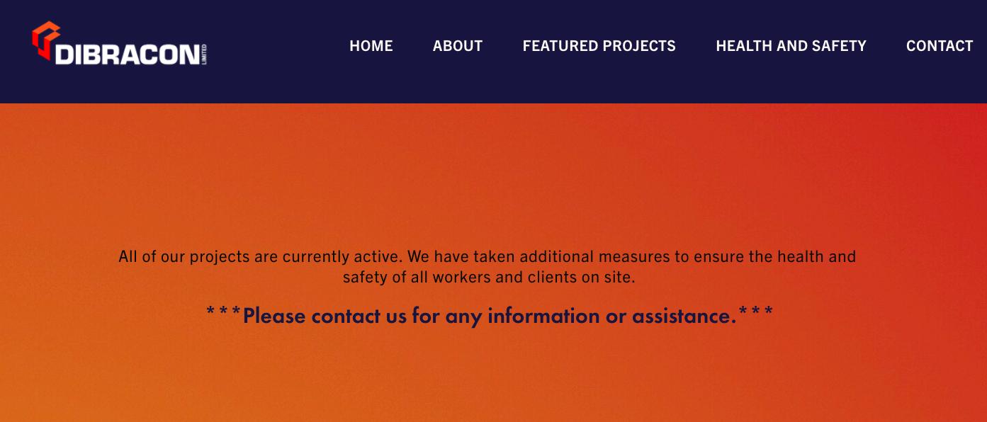 Blank Room Design Website Creation