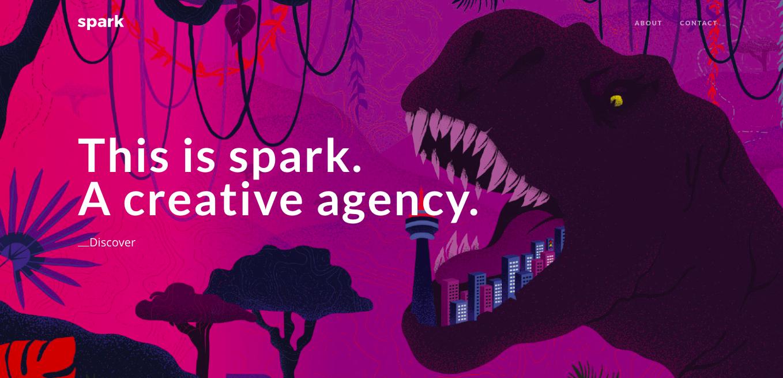 Spark Branding Website