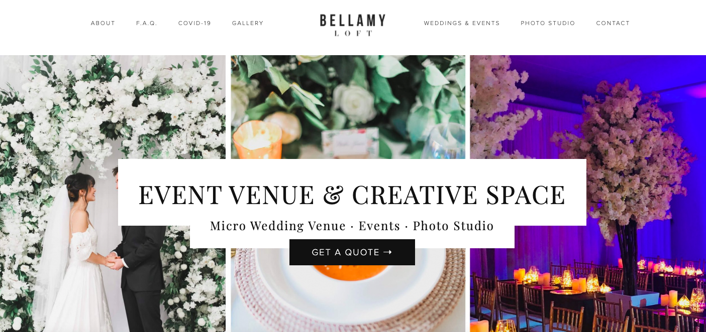 Brand Glow Up Bellamy Loft Client
