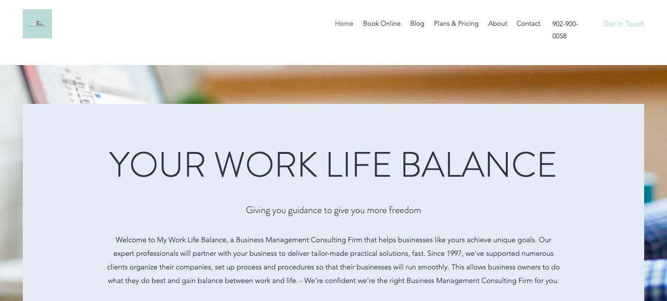 Your Work Life Balance Website