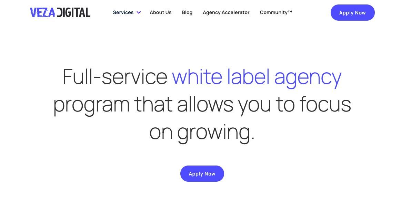 Veza DIgital Website