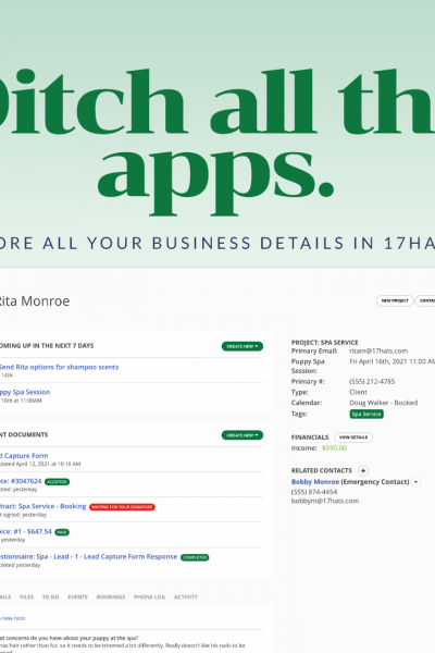 CRM for soloprenuers and small businesses